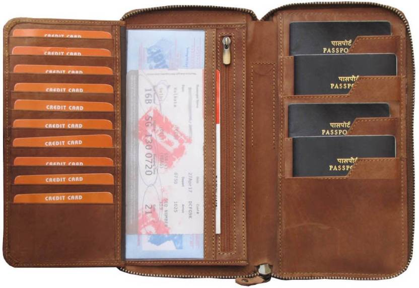 c2d1be6d8216 ABYS Durga Puja Special -Genuine Leather Passport Organizer||Mobile ...