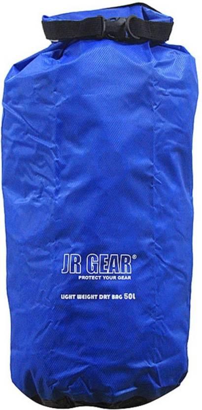 550caee4697 JR Gear Light Weight Dry Bag 50 Ltr Waterproof Backpack (Blue