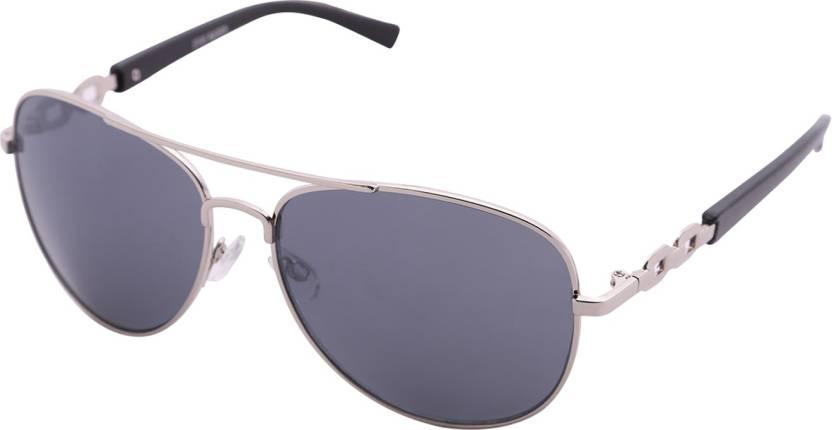 ee4211c9b5f Buy Steve Madden Aviator Sunglasses Grey For Men Online   Best ...