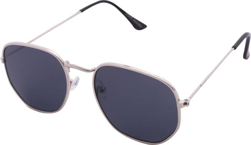 5081bab28030 Buy Steve Madden Aviator Sunglasses Black For Women Online @ Best ...