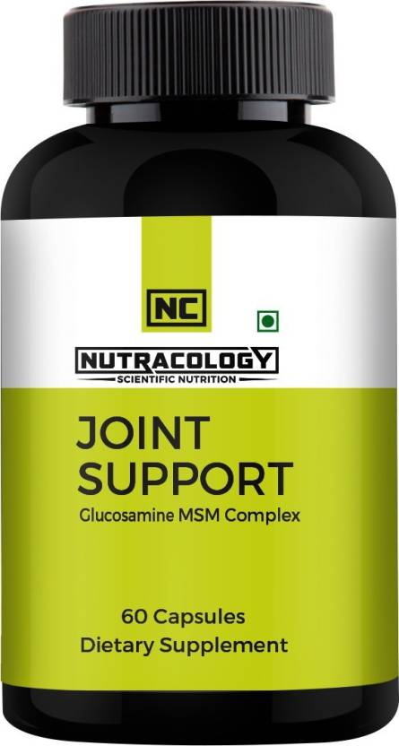 Nutracology Joint Health Glucosamine MSM complex Capsule Price in