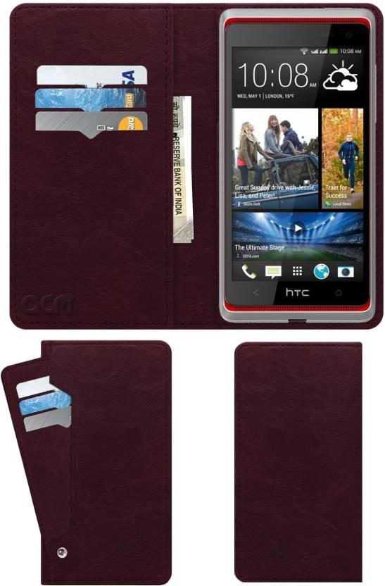 ACM Wallet Case Cover for Htc Desire 600 Dual Sim - ACM