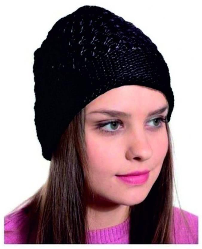 JUST RIDER WOMEN WOOLLEN CAP Cap - Buy JUST RIDER WOMEN WOOLLEN CAP Cap  Online at Best Prices in India  1c87ce486c