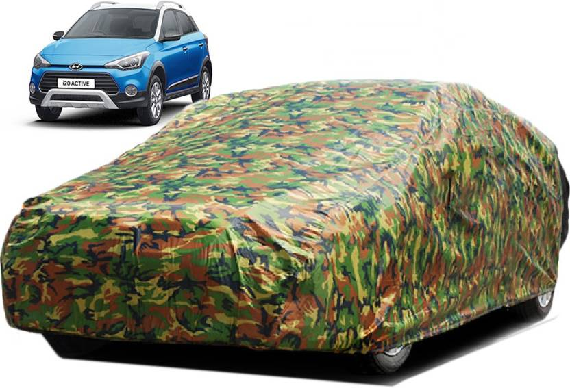 kuchipudi car cover for hyundai i20 active (without mirror pockets
