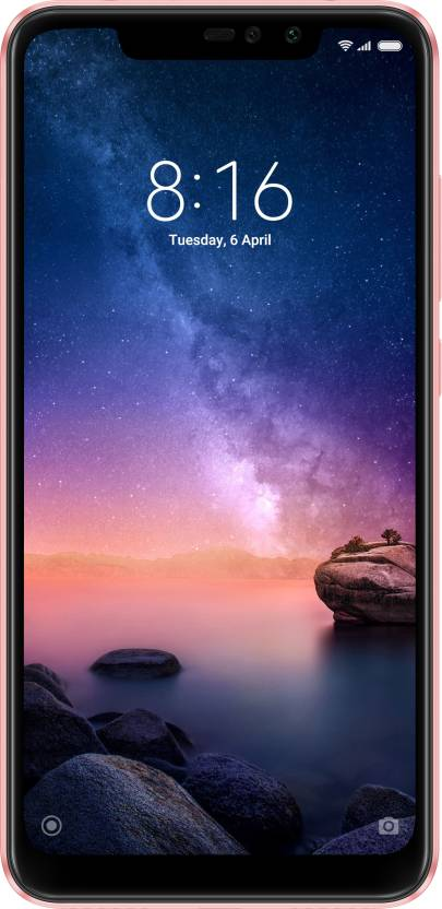 Redmi Note 6 Pro  Rose Gold, 64  GB    4  GB RAM  Mi Mobiles