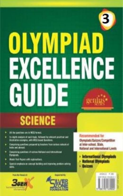 Silver Zone Olympiad Books Science IOS GUIDE Book Class 3