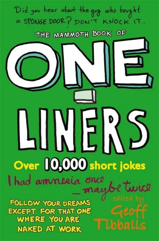The Mammoth Book of One-Liners: Buy The Mammoth Book of One