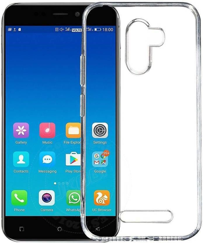 lowest price 4f45b e793e Sswastik Back Cover for Gionee A1 Lite Transparent, Plain Back Cover ...