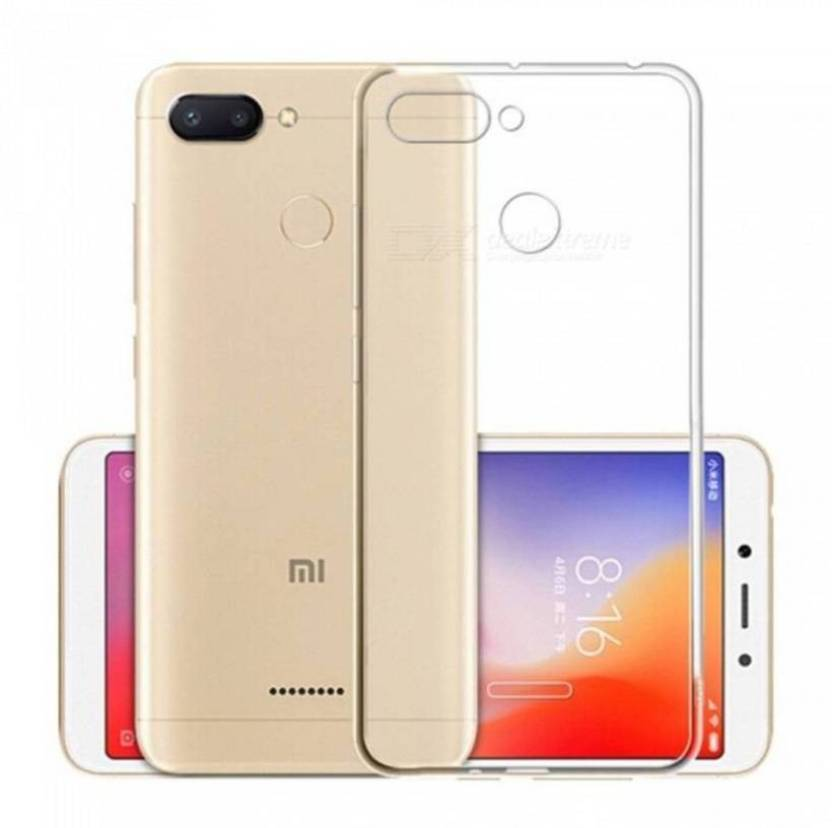 online store 96d95 4f845 b. bright Back Cover for Mi Redmi 6 Transparent COVER - b. bright ...