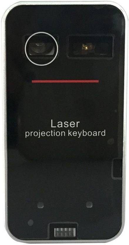 a784e1abfc7 TechGear Wireless Bluetooth Laser Projection Virtual Keyboard for PC Tablet  Laptop Bluetooth Laptop Keyboard (Black)