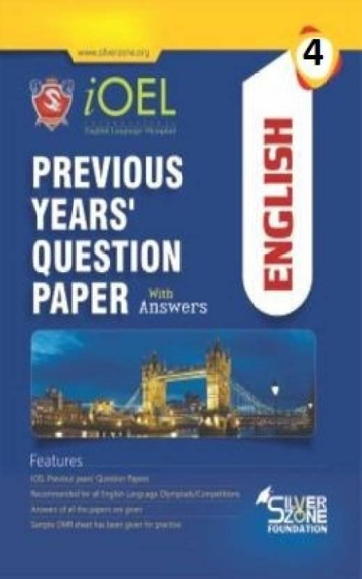 Silver Zone Olympiad Books English IOEL Previous Year