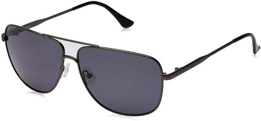 5c7350fd8e1 Buy Fastrack Retro Square Sunglasses Black For Men Online   Best ...