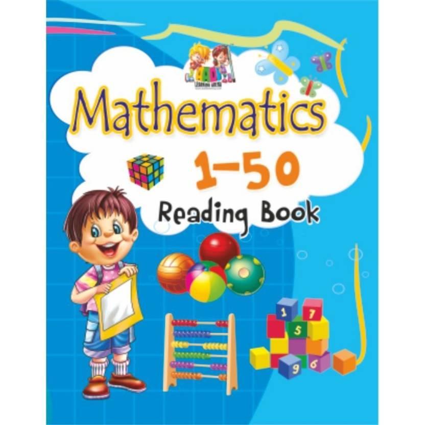 pre primary - nursery books - MATHEMATICS 1 TO 50 - reading book