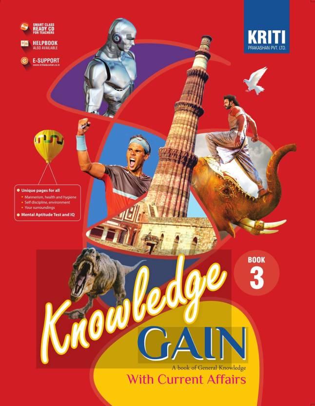 KRITI PRAKASHAN , KNOWLEDGE GAIN WITH CURRENT AFFAIRS CLASS - 3 ( A