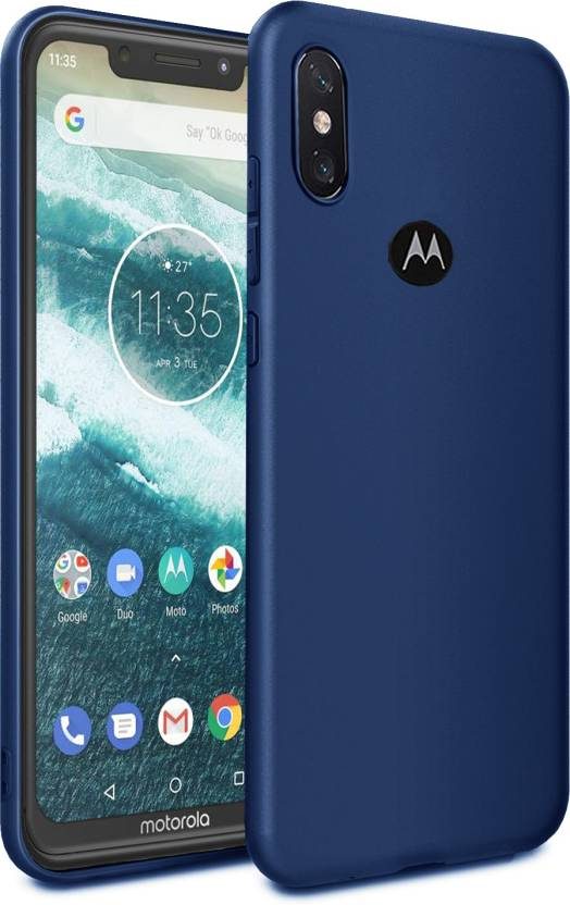 check out 520b5 75c64 Febelo Back Cover for Motorola One Power