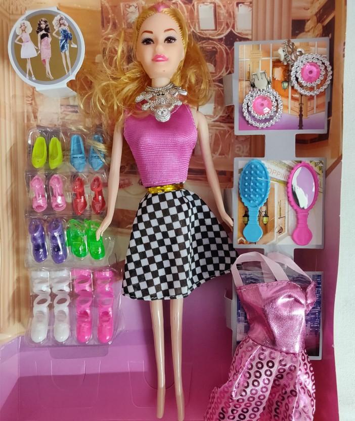 Doll Umbrella Girl Multicolor DIY Doll Accessories New Kids Toys Fashion Style