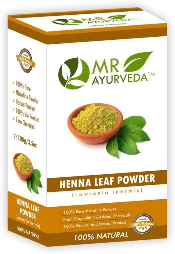 Mr Ayurveda 100 Organic Henna Leaf Powder Hair Color Price In