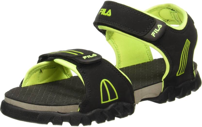 6cf3f88abbd6 Fila Men Blue  Yellow Sports Sandals - Buy Fila Men Blue  Yellow Sports  Sandals Online at Best Price - Shop Online for Footwears in India