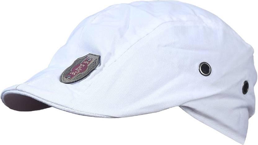 ac51cefddd5 ZACHARIAS Solid Cotton Golf Cap White Cap - Buy ZACHARIAS Solid Cotton Golf  Cap White Cap Online at Best Prices in India