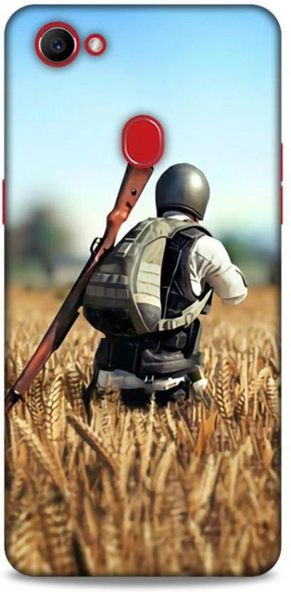 new styles ad685 5462b VICTORYFLAG Back Cover for Oppo F7 Pubg Printed - VICTORYFLAG ...