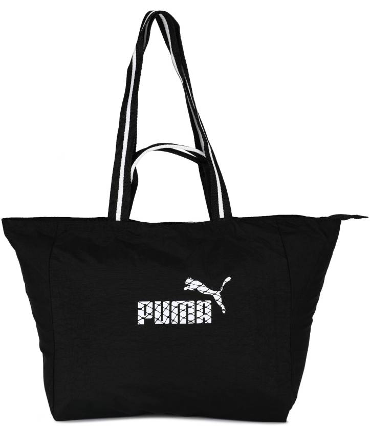 928508337705 Buy Puma Shoulder Bag Black-White Online   Best Price in India ...