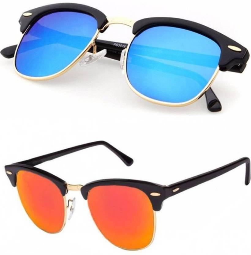 e8b4c6c3c3af9 Buy Flynn Clubmaster Sunglasses Blue