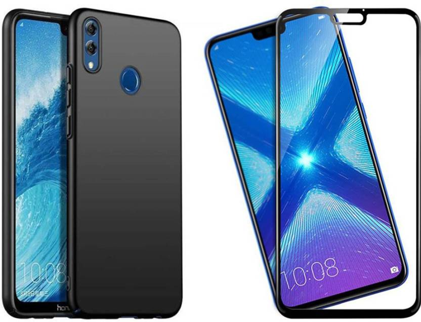 Goelectro Cover Accessory Combo for Huawei Honor 8X 4 Cut All Sides
