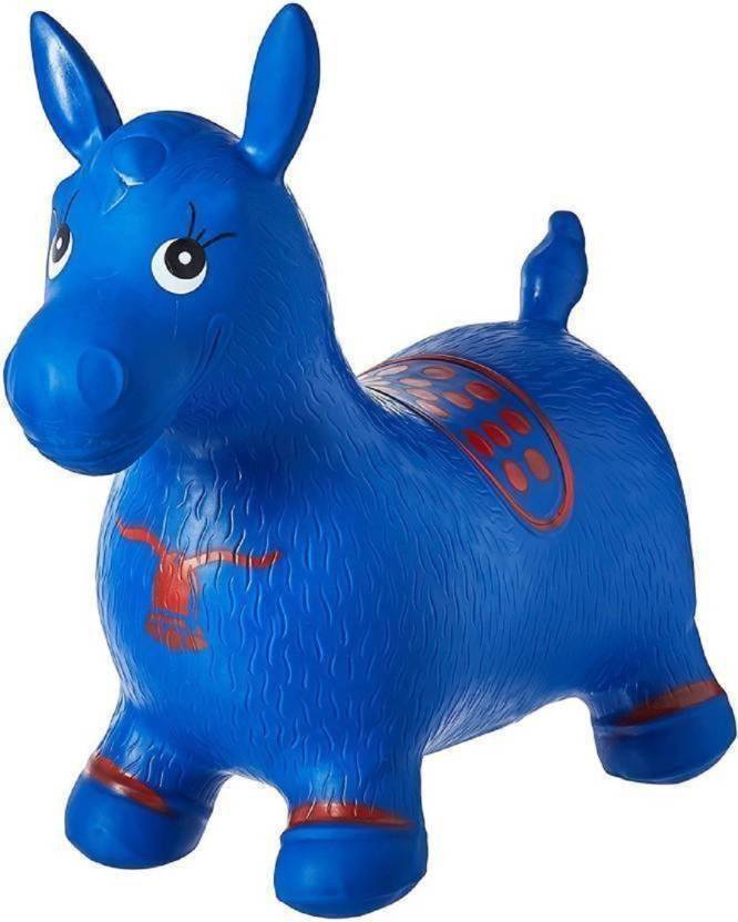 cede03d9e ExaltedCollection Inflatable Jumping   Bouncer Riding Horse Animal ...