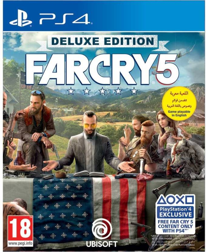 Far Cry 5 (Deluxe Edition) Price in India - Buy Far Cry 5 (Deluxe