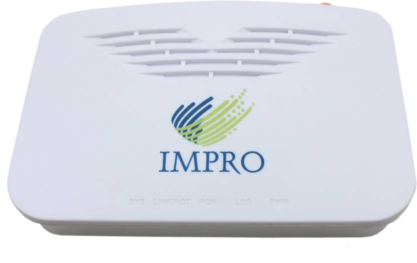 Impro 1GE EPON ONU Fiber Optic 10/100/1000Mbps, PON Port