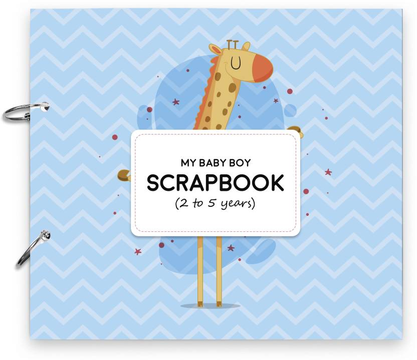 Candid Home Decor Scrapbook For Baby Album For Baby Boy Photo