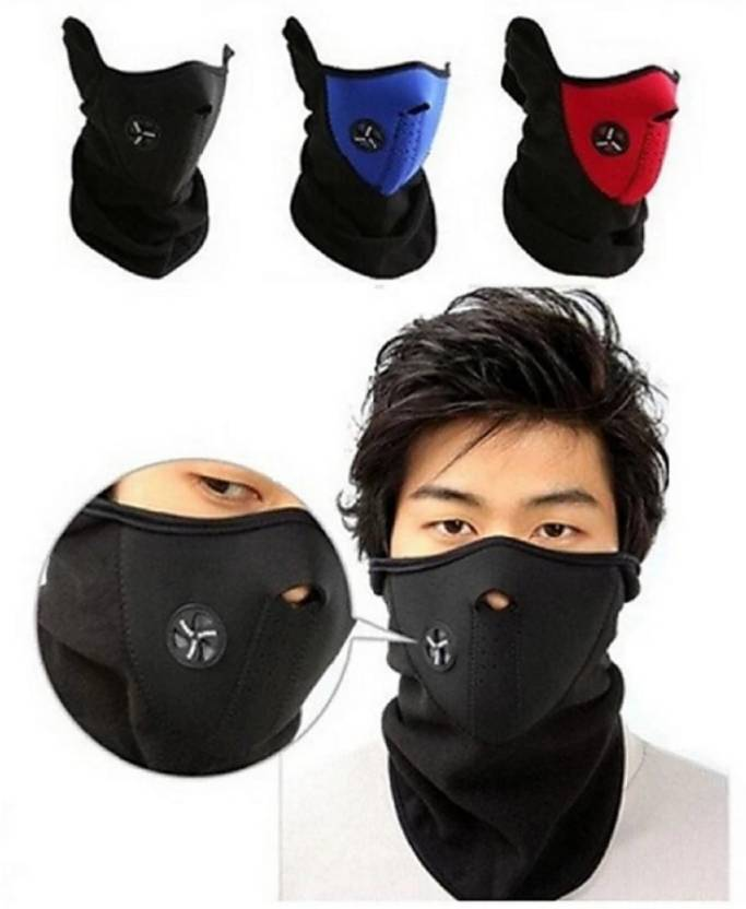 mra fashion Neo Half Face Dust Proof mask For Bike cycle Face Mask for Men    Women (Size  Free d00ad309a