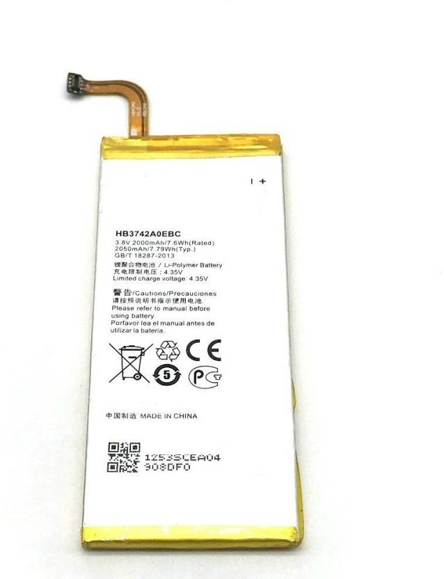 NAFS Mobile Battery For Huawei Ascend P6-U06 Price in India