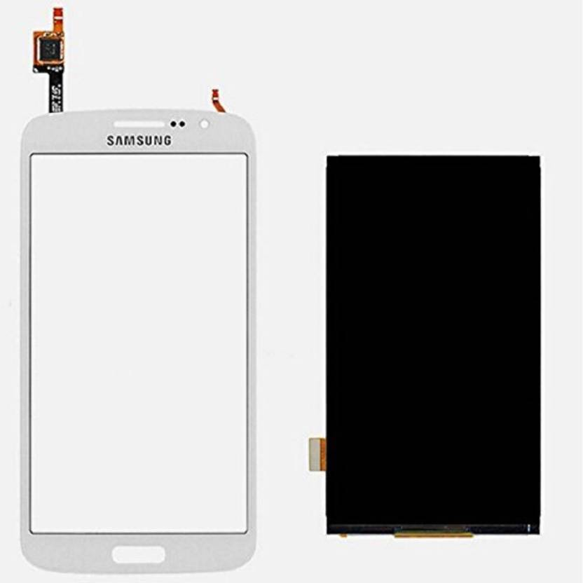 SMJ Samsung Galaxy Grand 2 SM-G7102 WHITE LCD Haptic/Tactile touchscreen ( G7102)