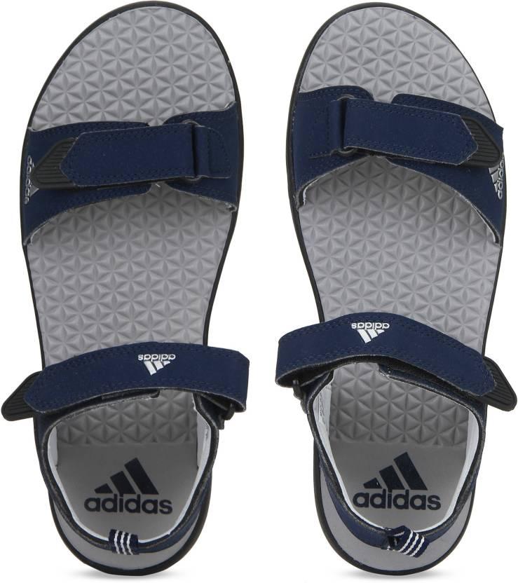 3c91b15bedc2 ADIDAS Men Blue Sports Sandals - Buy ADIDAS Men Blue Sports Sandals Online  at Best Price - Shop Online for Footwears in India