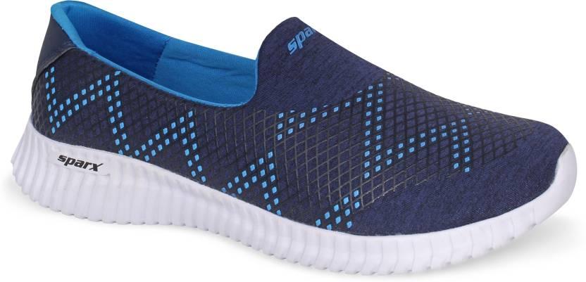 Sparx Women Sl 123 Navy Blue Royal Blue Walking Shoes For Women