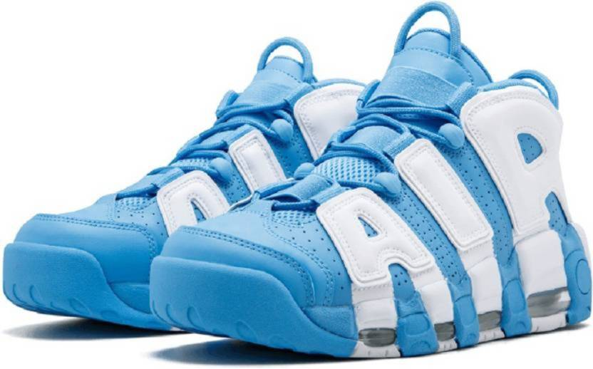6e68ee07c82f6 Air Sports Air More Uptempo Sky bynike Basketball Shoes For Men (Blue)
