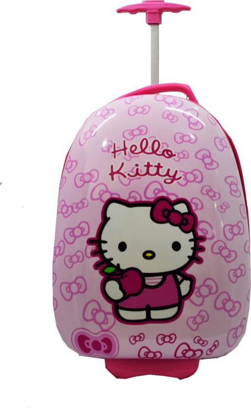 792120b7d ToyzIsland Hello Kitty Trolley Bag/Suitcase 16 inch Expandable Cabin Luggage  - 16 inch (Multicolor)