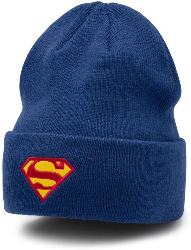 1e42b11e9988 Puma Solid Justice league SUPERMAN beanie Cap - Buy Puma Solid Justice  league SUPERMAN beanie Cap Online at Best Prices in India