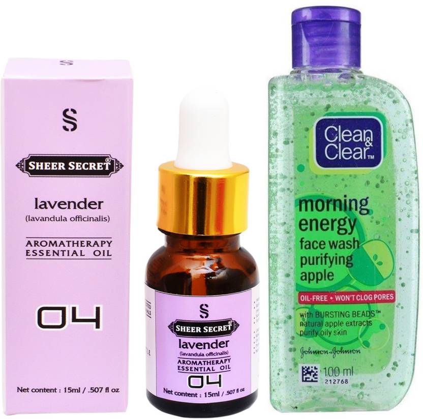 Sheer Secret Aromatherapy Lavender Essential Oil 15ml With