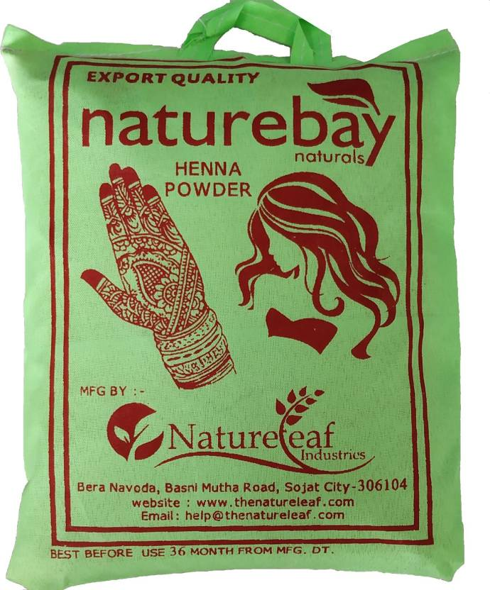 d09f93315 NatureBay Naturals 100% Pure Henna Powder 1Kg(cloth filtered) (1000 g)