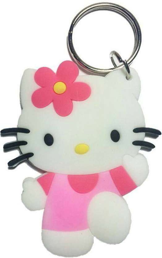 eaf123517 GCT Double Sided Hello Kitty (Design-3) Cartoon Movie Character Rubber  Keychain for Car Bike Men Women Keyring Key Chain Price in India - Buy GCT  Double ...