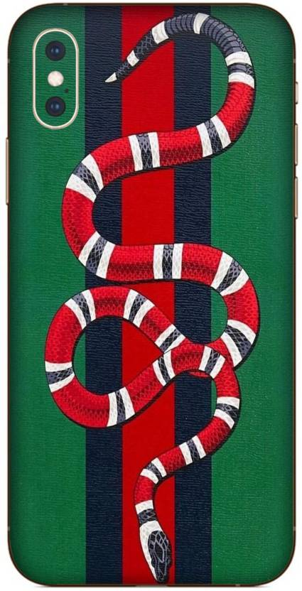 new arrivals ef713 309e8 Crystal Coat XS Edition gucci snake Skin for Back Only Apple iPhone ...