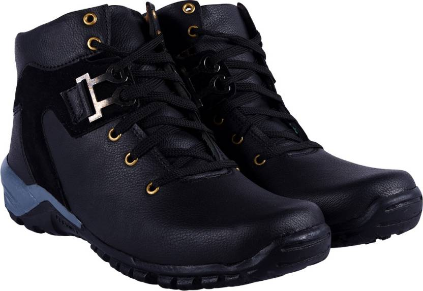 1cbd5f1ed1e5 DLS DLS black casual party wear boots shoes for men s Party Wear For Men ( Black) Boots For Men (Black)