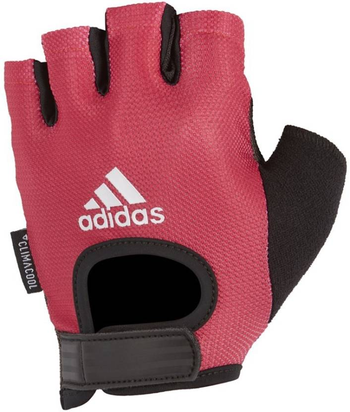 ADIDAS PERFORMANCE GLOVES WOMEN PINK M Gym   Fitness Gloves (M ... 87ca501e40