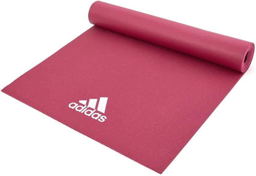 últimas tendencias de 2019 fabricación hábil calidad primero ADIDAS YOGA MAT MYSTERY RUBY Multicolor 4 mm Yoga Mat - Buy ADIDAS ...