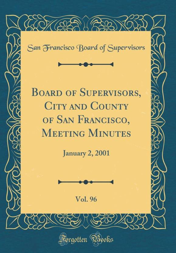 board of supervisors city and county of san francisco meeting