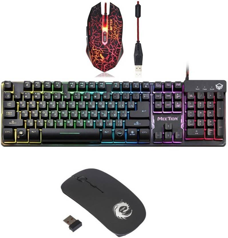 8b8931f79c0 MEETION K-9300 SEMI MECHANICAL GAMING KEYBOARD AND XM-508 MOUSE WITH  WIRELESS MOUSE Combo Set Price in India - Buy MEETION K-9300 SEMI MECHANICAL  GAMING ...