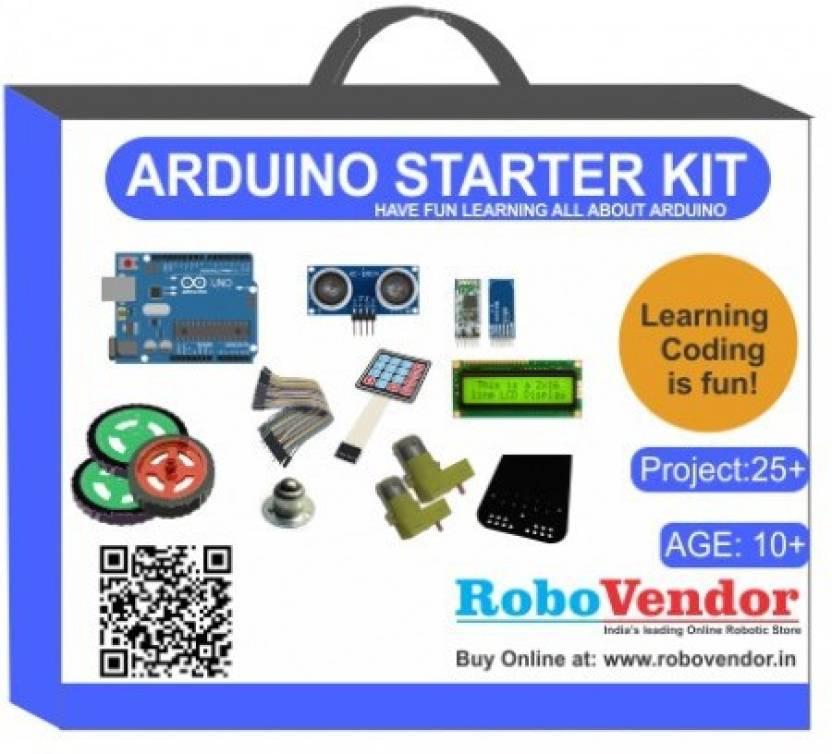 RoboVendor Arduino Starter kit India with Illustrated e