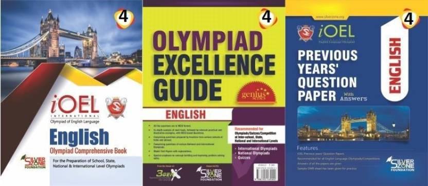 Silver Zone Olympiad Books English IOEL Comprihenshive Book